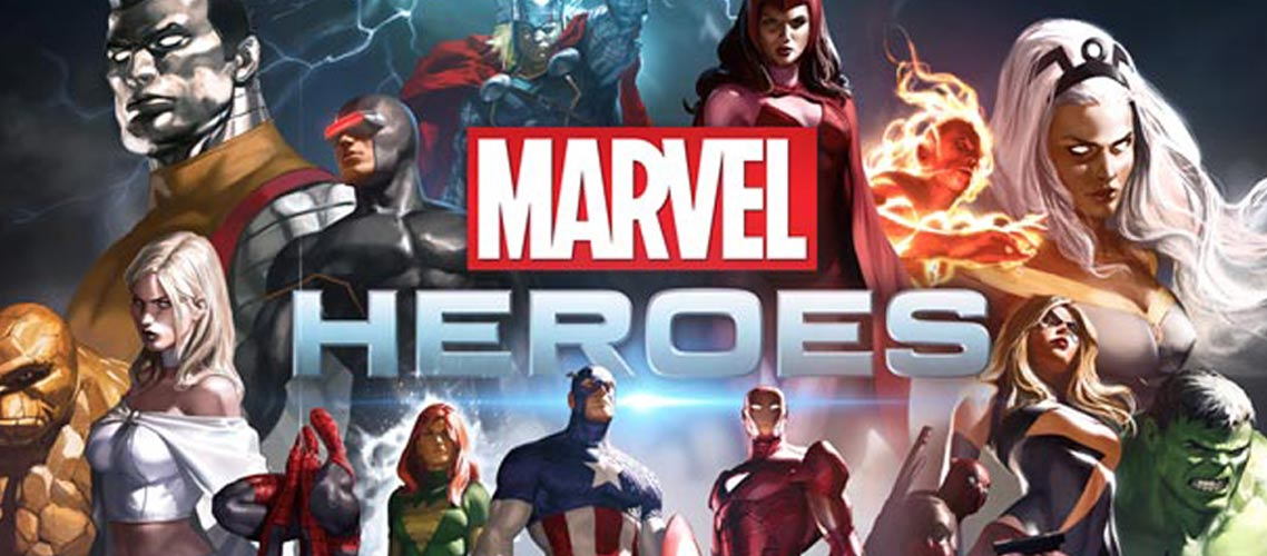 Play With Superheroes In Branded Marvel Slots
